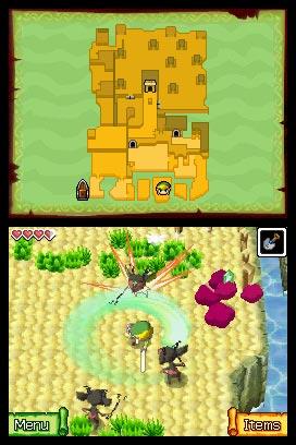 Legend of Zelda Phantom Hourglass screenshot1