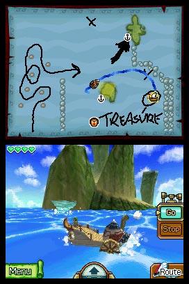 Legend of Zelda Phantom Hourglass screenshot 2
