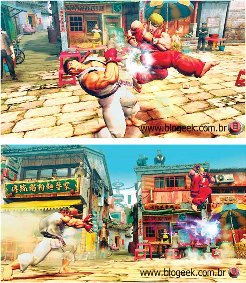 Street Fighter 4 pics