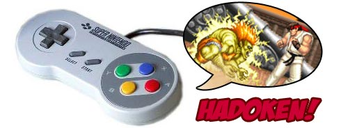 street Fighter 2 Influenced Snes Pad design
